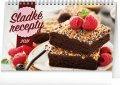 neuveden: Kalendář 2021 stolní: Sladké recepty, 23,1 × 14,5 cm