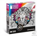 neuveden: Puzzle 3D Colour Therapy Lev/500 dílků