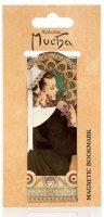 neuveden: Magnetická záložka Alfons Mucha – Heather