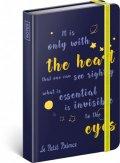 neuveden: Notes - Malý princ – Oči, linkovaný, 10,5 x 15,8 cm
