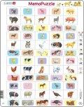 neuveden: PUZZLE MAXI - Memo - domácí zvířata/40 dílků