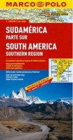 neuveden: Jižní Amerika - jih/mapa