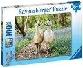 neuveden: Ravensburger Puzzle - Huňatí přátelé 100 dílků