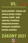 neuveden: Zákony VIA/2021 Životní prostředí - Ochrana vod, Ochrana přírody a krajiny,
