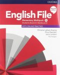 Latham-Koenig Christina; Oxenden Clive: English File Elementary Multipack B with Student Resource Centre Pack (4th)