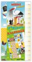 neuveden: Kalendář - Krteček - měřící rodinný - nástěnný