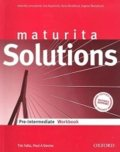 Falla Tim: Maturita Solutions Pre-intermediate Workbook (CZEch Edition)