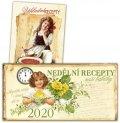 Trnková Klára: Kalendář 2020 - Nedělní recepty naší babičky + Základní recepty