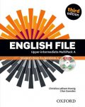 Latham-Koenig Christina; Oxenden Clive: English File Upper Intermediate Multipack A (3rd) without CD-ROM