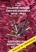 Zelený Jan, Šmejkal Jiří: Chladné zbraně Československa 1918-1953