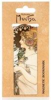 neuveden: Magnetická záložka Alfons Mucha – Feather