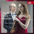 Fialová Kristina, Ardašev Igor,: Czech Viola Sonatas / České violové sonáty - Martinů, Husa, Kalabis, Feld -
