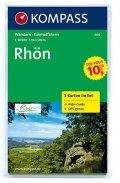 neuveden: Rhön 460 ,2 mapy / 1:50T NKOM
