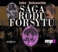 Galsworthy John: Sága rodu Forsytů - CD mp3