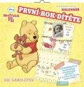 neuveden: Kalendář - W. Disney Medvídek Pú - první rok dítěte - nedatovaný