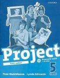 Hutchinson Tom: Project 5 Pracovní sešit s CD-ROM (3rd)