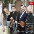 neuveden: Dvořák: Klavírní kvartety č. 1 a č. - 2 CD