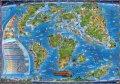 neuveden: Dinosauři a prehistorický svět - Ilustrovaná mapa pro děti