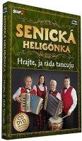 neuveden: Senická heligonka - Hrajte já ráda tancuju - CD+DVD