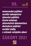 neuveden: Zákony III B/2021 Ochrana veřejného zdraví - Nemocenské pojištění, sociální