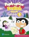 Jolly Aaron: Poptropica English Level 5 Pupil´s Book + PEP kód elektronicky