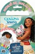 Disney Walt: Vaiana - Omalovánky na cesty