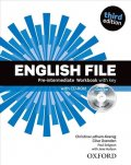 Latham-Koenig Christina; Oxenden Clive: English File Pre-intermediate Workbook with Answer Key (3rd) without CD-ROM