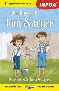 Twain Mark: Dobrodružství Toma Sawyera / Adventures of Tom Sawyer - Zrcadlová četba (A1