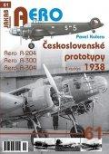 Kučera Pavel: Československé prototypy 1938 - Aero A-204, A-300, A-304