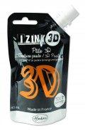 neuveden: IZINK 3D reliéfní pasta 80 ml/safran, oranžová