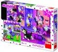 neuveden: Minnie - Den s Minnie:  puzzle 3x55 dílků