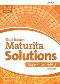 Falla Tim, Davies Paul A.: Maturita Solutions Upper Intermediate Workbook 3rd (CZEch Edition)