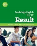 Davies Paul A., Falla Tim: Cambridge English First Result Student´s Book with Online Practice Test