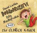 Laňka David: Dobrodružství Billa Madlafouska - 2CD (Čte Oldřich Kaiser)