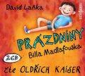 Laňka David: Prázdniny Billa Madlafouska - 2 CD (Čte Oldřich Kaiser)