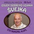 Hašek Jaroslav: Osudy dobrého vojáka Švejka 3-4 - 2CD