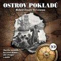 Stevenson Robert Louis: Ostrov pokladů - 2CD (čte Martin Stránský a další)