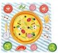 neuveden: Dřevěné puzzle - Pizza