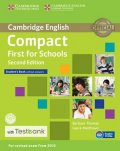 Thomas Barbara: Compact First for Schools Student´s Book without Answers with CD-ROM with T