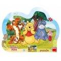 Disney Walt: Schovávaná s Medvídkem Pú - puzzle 25 dílků