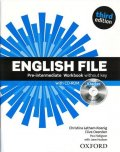 Latham-Koenig Christina; Oxenden Clive; Selingson Paul: English File Pre-intermediate Workbook Without Answer Key with iChecker (3r