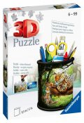 neuveden: Ravensburger 3D Puzzle Stojan na tužky - Divoká příroda 54 dílků