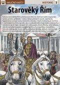 neuveden: Starověký Řím - Naučná karta