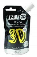 neuveden: IZINK 3D reliéfní pasta 80 ml/citronela, perleťová žlutá