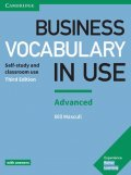 Mascull Bill: Business Vocabulary in Use: Advanced Book with Answers
