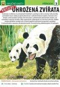 neuveden: Kriticky ohrožená zvířata - Naučná karta