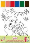 neuveden: Strawberry - Kreativní omalovánková sada Magic Painting