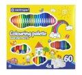 neuveden: Centropen Fixy 9396 Colouring Palette Quatro, sada 60 ks