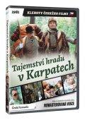 neuveden: Tajemství hradu v Karpatech DVD (remasterovaná verze)