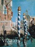 neuveden: Kalendář 2021 - Venezia, nástěnný